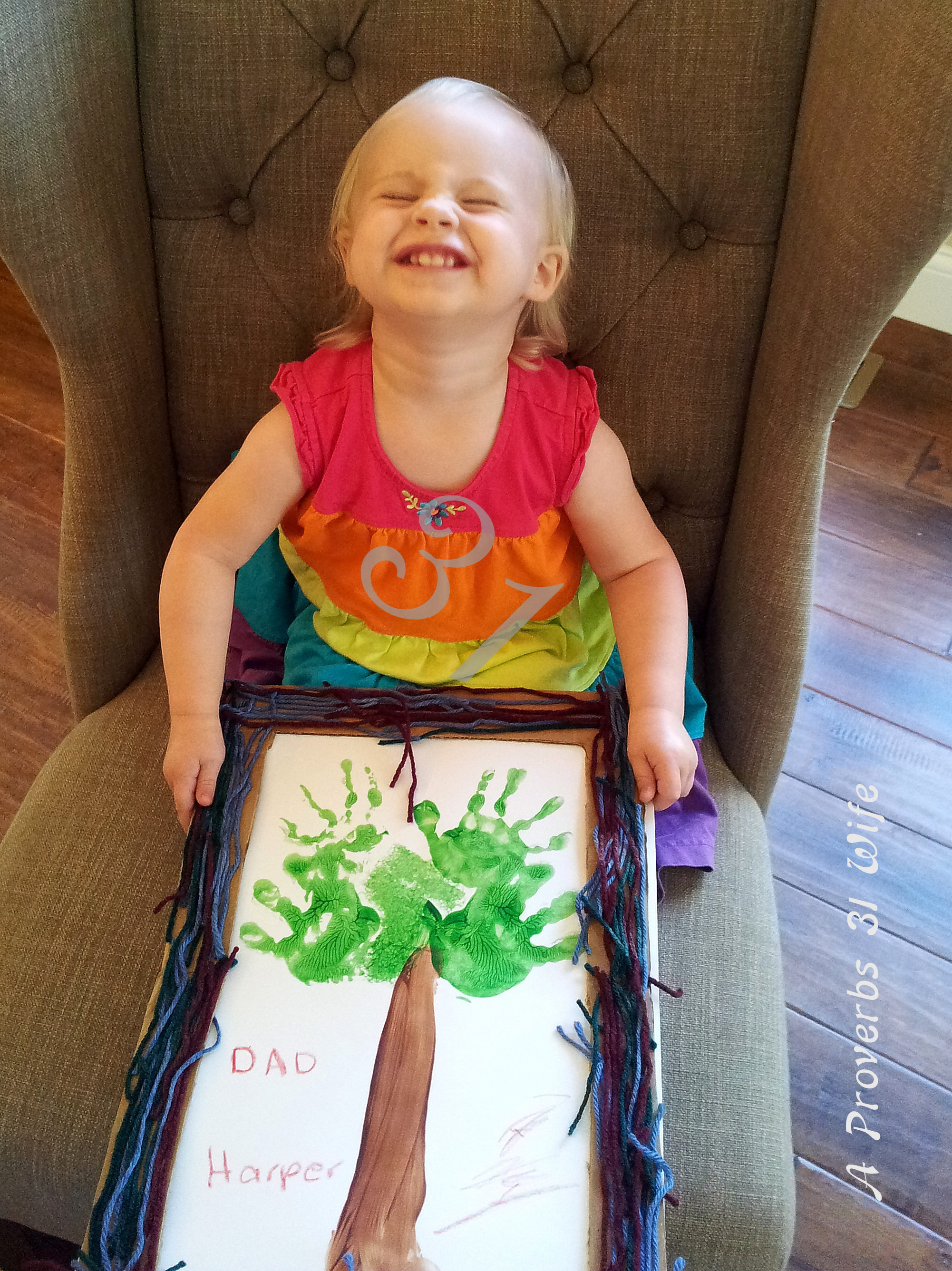 Fathers day craft for 2yr olds for Craft ideas for 2 year olds