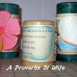 Decorated Pillar Candles