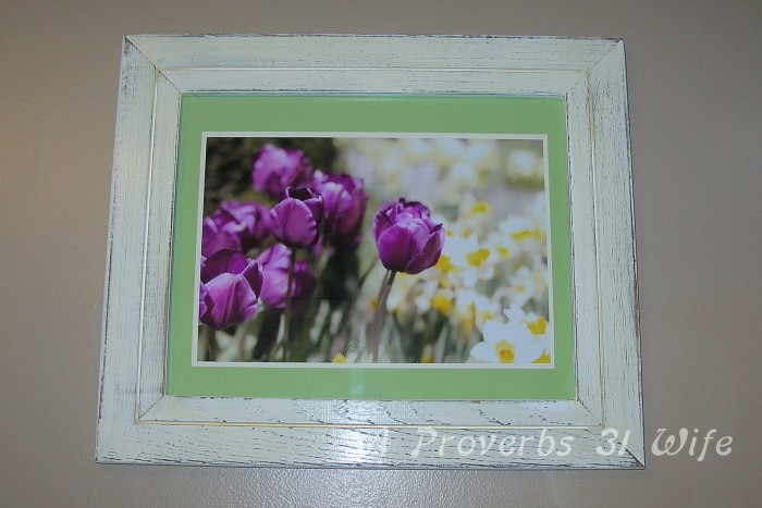 A Distressed Wood Frame