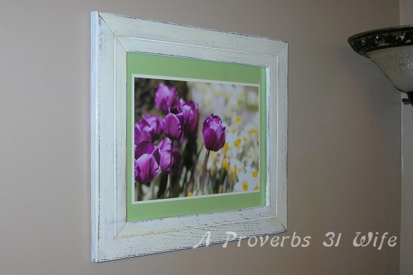 Distressed Wood Frame