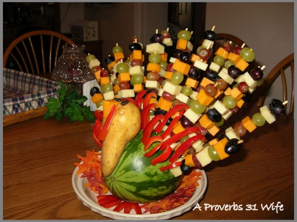 Fruit turkey for your table a proverbs wife