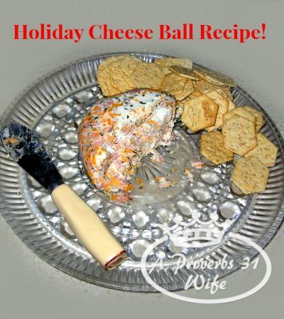 Holiday Cheese Ball Recipe, Must try this for family gatherings!!!