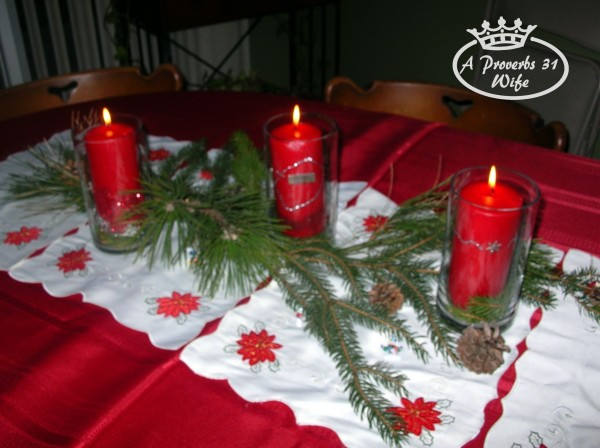 Decor for Hosting a Christmas Party
