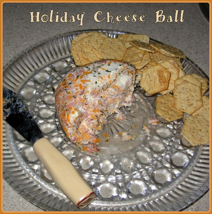 Holiday Food ~ Cheese Ball Recipe