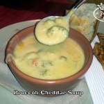 Broccoli Cheddar soups at Panera Bread