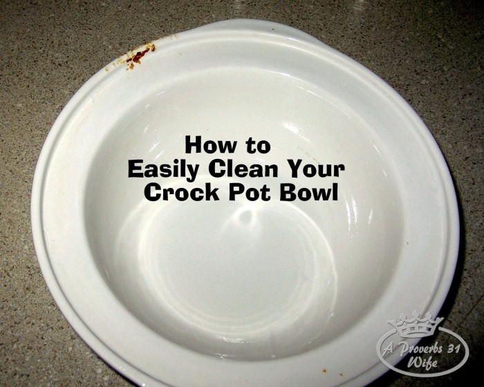 Easy Way to Clean my Crock-Pot