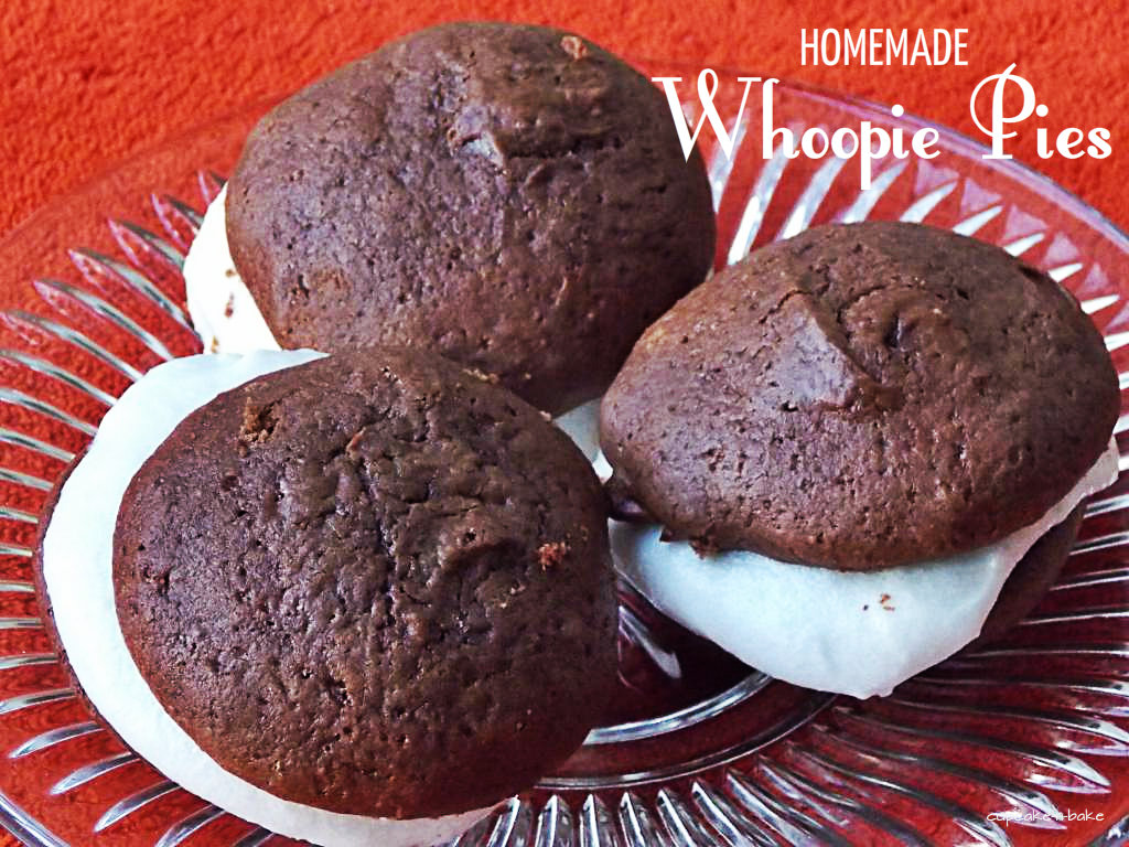 Recipe for Whoopie Pies