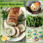 Easter Recipe roundup. Ideas for your Easter menu!
