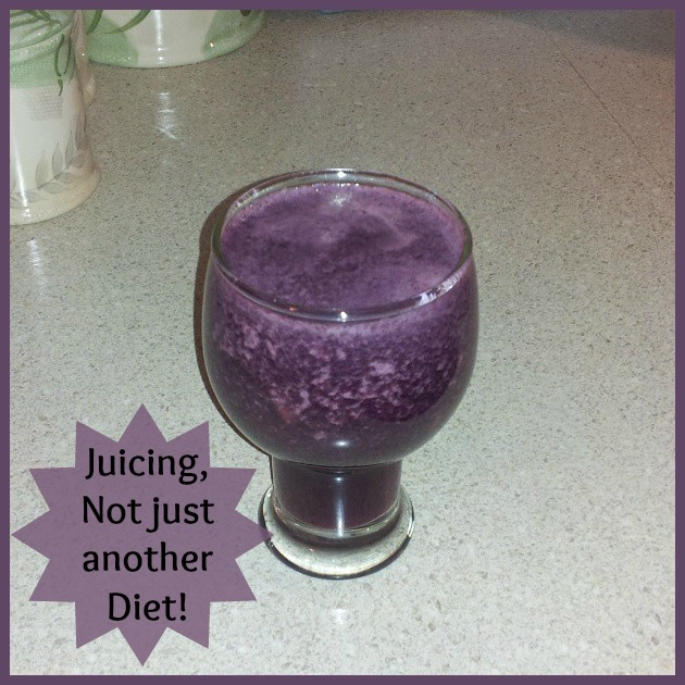 Juicing is not just another diet!