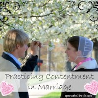 Are your practicint discontent or contentment in you marriage?