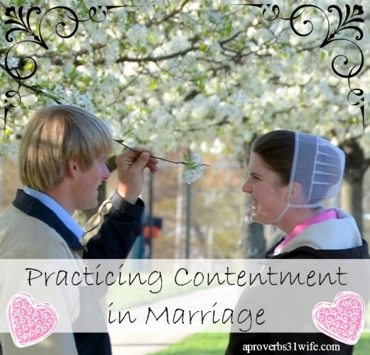Are your practicing discontent or contentment in marriage?