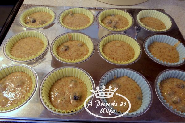 Glueten free blueberry muffin recipe