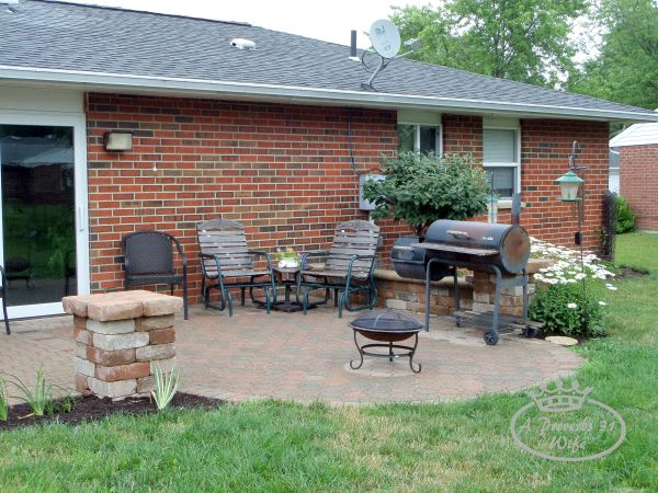 Landscape design for the backyard. Landscaping before and after photos