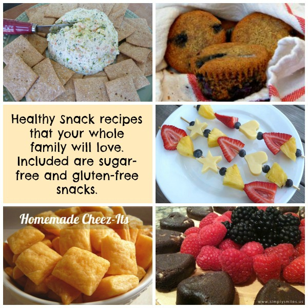 Healthy Snacks for After School (or anytime!)