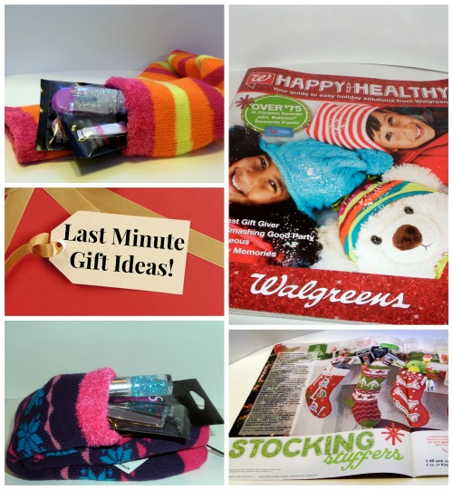 Last Minute Christmas Gifts with Walgreens Holiday Solutions.