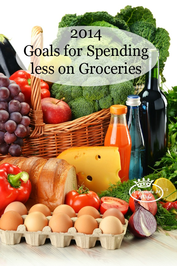 Spend Less on Food. My 2014 Goal