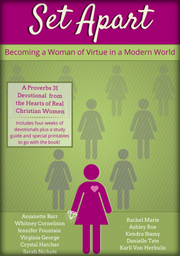 Virtues of the Proverbs 31 Woman. A 28 day study guide