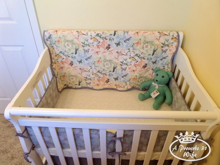 Setting up a baby nursery. Our inspiration:  Birds and branches crib set