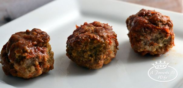 Amazing Meatball recipe with the best bar-b-que sauce ever!