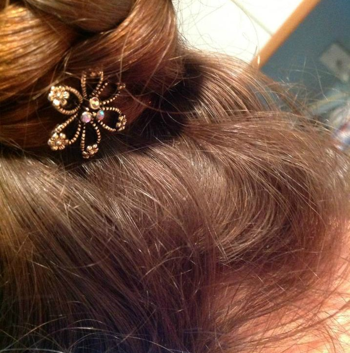 Lilla Rose You-Pins. Pretty hair pins to hold buns