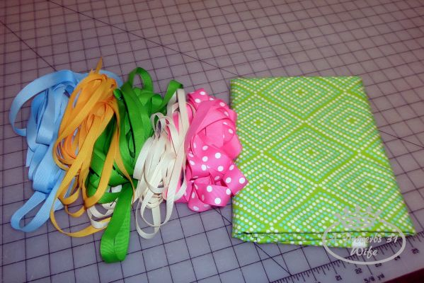 Ribbons and fabric from Marie Maddeline