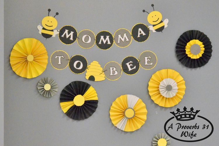What Will Baby Bee Fun Shower Theme