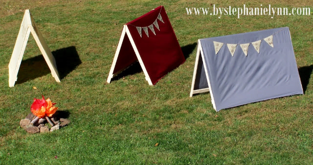 Top 10 family fun activities: make pup tents for the kids