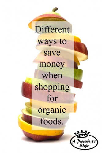 These are some great tips for saving money on organic foods!
