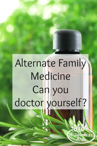 Alternate family medice is found in many ways. Going to the doctor isn't always your only option.