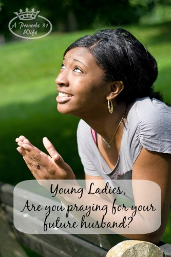 Why is praying for your future husband so important? In this world of temptations and snares, don't wait until you are married to pray for your man, instead...
