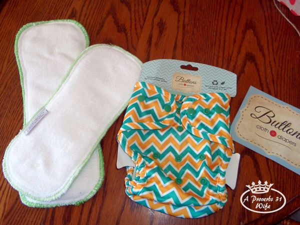 AI2 diapers from Buttons diapers