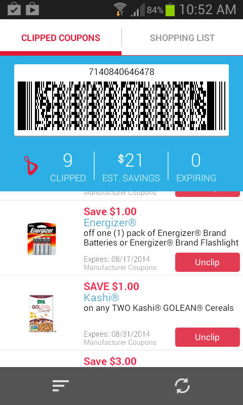 Time and money saved with paperless coupons at Walgreens #shop