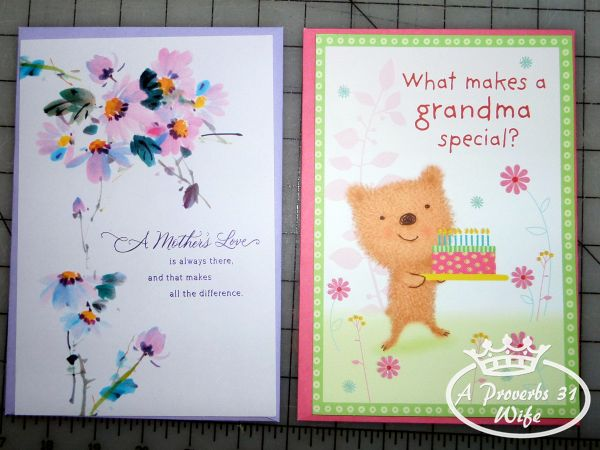 Fun cards for a mom and grandma. Send a card and greetings  #ValueCards #shop