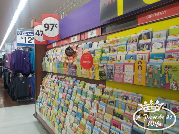 send a card and greetings with Hallmark value cards from Walmart #ValueCards #shop