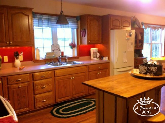 Jane's cozy kitchen makeover -after!