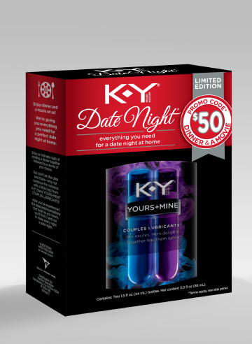 KY promo for special date night. #shop #YoursandMine