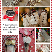 A baker's dozen. Last minute food gifts to give for the holidays!