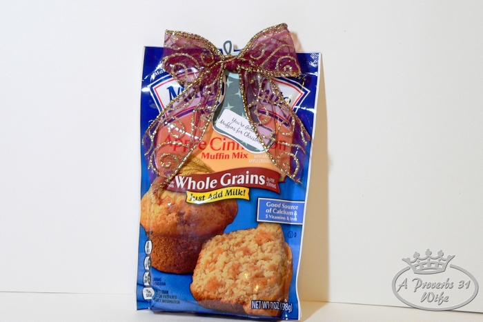 You're getting muffins for Christmas! Funny gift idea.
