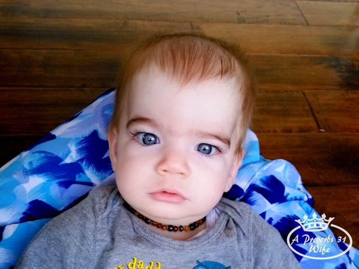 Beautiful blue eyed baby. #MaxYourTax #ad