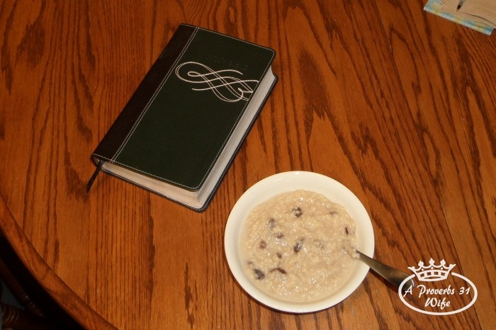 Breakfast time is bible time.  #24HourEsterC #Ad