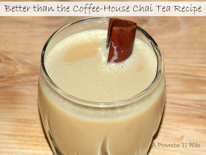 Better than the Coffee-House chai tea recipe.
