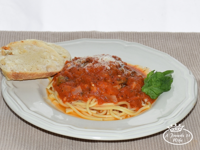 An Italian party in your mouth with this chunkalicious pasta sauce recipe!