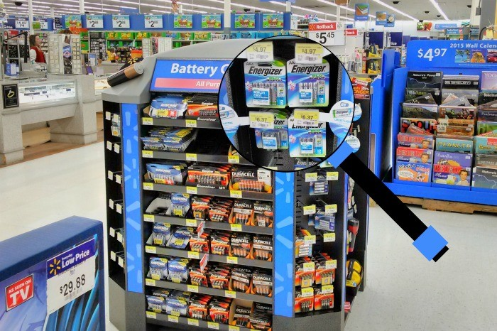 EcoAdvanced recycled batteries found at Walmart! #BringingInnovation #ad