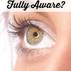 Are you living fully aware of those around you?