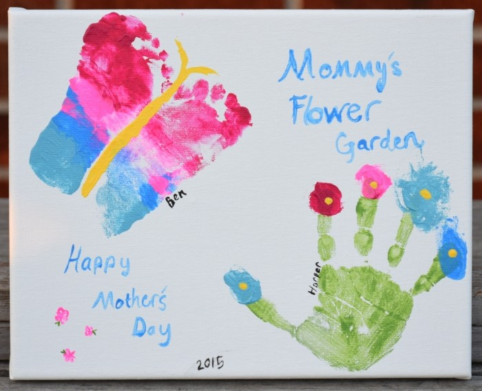 Grandma's Flower Garden | DIY Mother's Day Gift