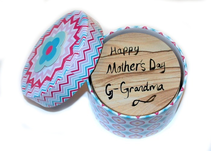 Mother's day gift to grandma from baby. #BestMomsDayEver #ad