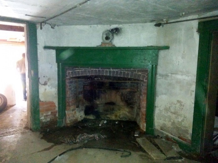 The basement was also in amazingly good condition. This is where they originally did most of the cooking.
