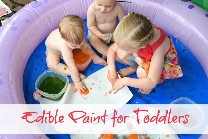 Edible Paint for Toddlers | Good Messes Gone Bad