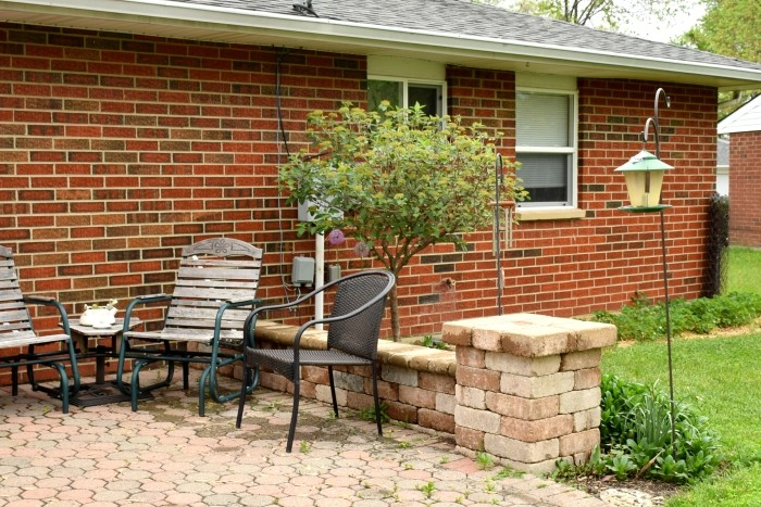 Cozy back patio. Memories of a job done well. #MobileMemories #FamilyMobile #ad