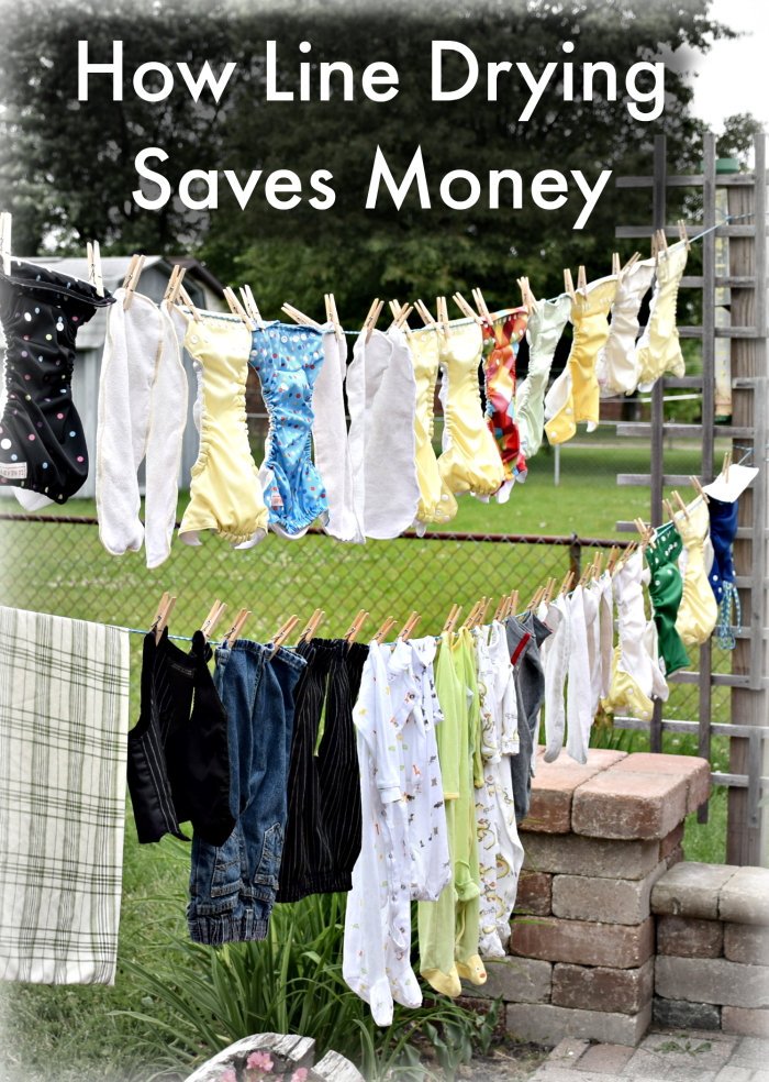 Line drying clothes saves money in many ways. Here's a quick look at the ways line drying save money.